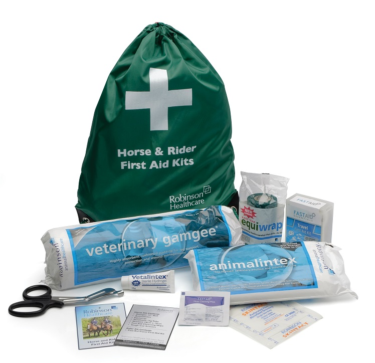 horse and rider first aid kit robinsons animal health