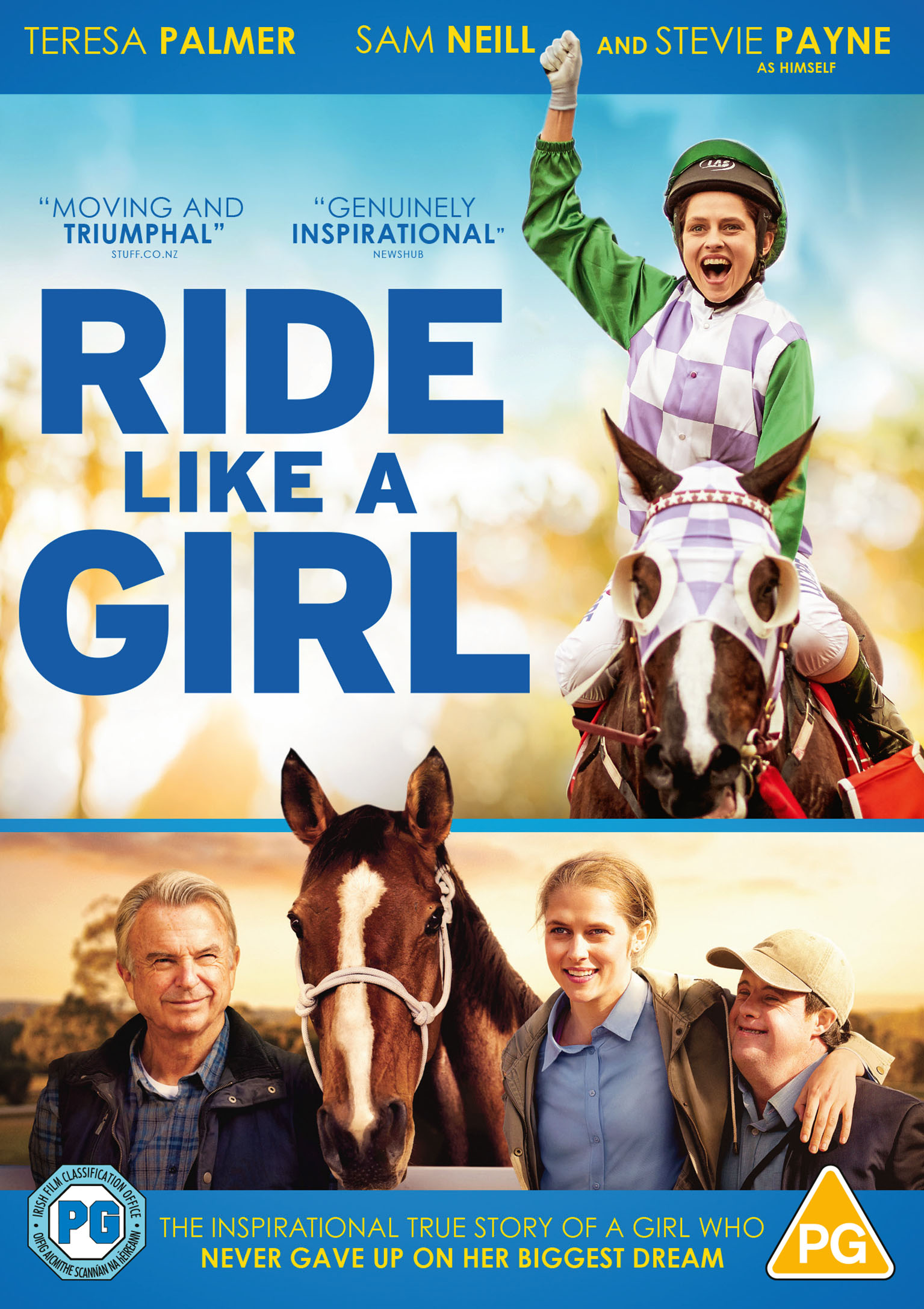 Lionsgate Ride Like A Girl DVD cover
