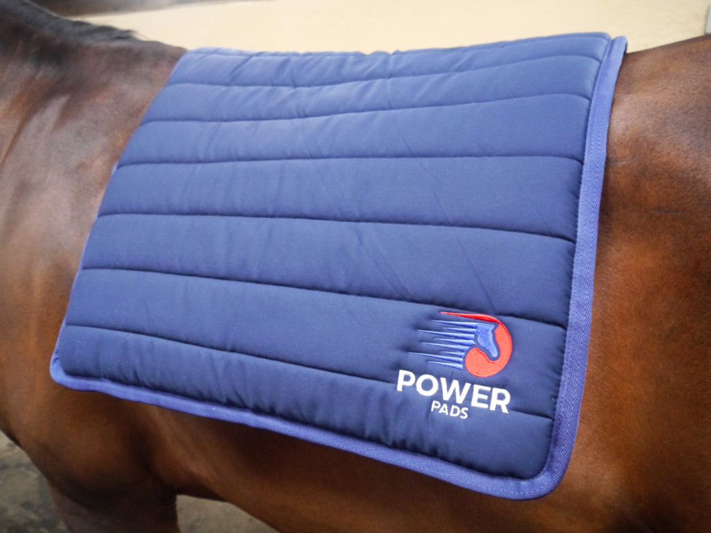 Power pad saddle cloth no saddle