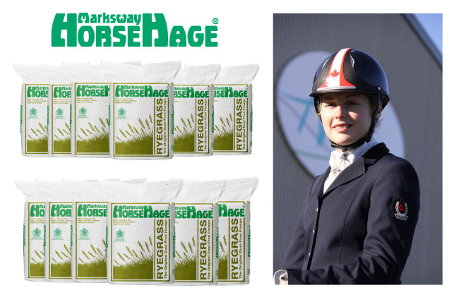 Win a Lesson with Bert Sheffield & 12 Bales of HorseHage!