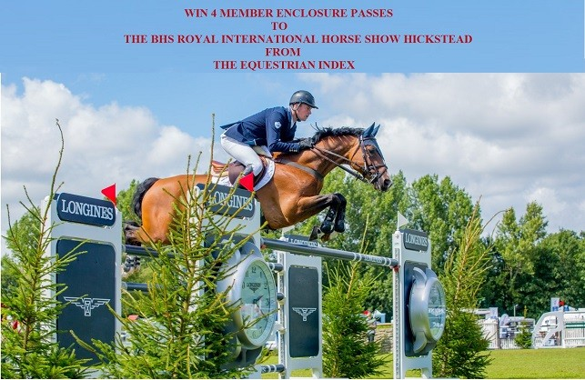 Win 4 Members passes to The Royal International Horse Show Hickstead