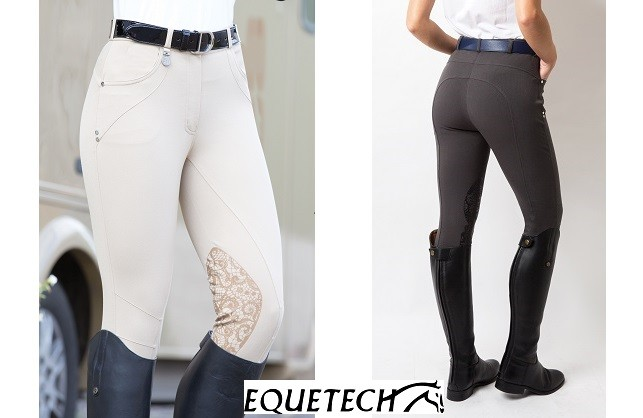 Win with Equetech - Three pairs of Interlace Breeches to win!