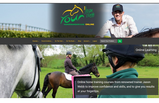Get In & Get on your horse with YourHorsemanship.com!