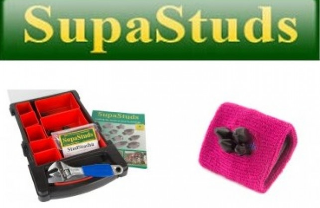 2 lucky people to receive an award winning stud kit from SupaStuds!
