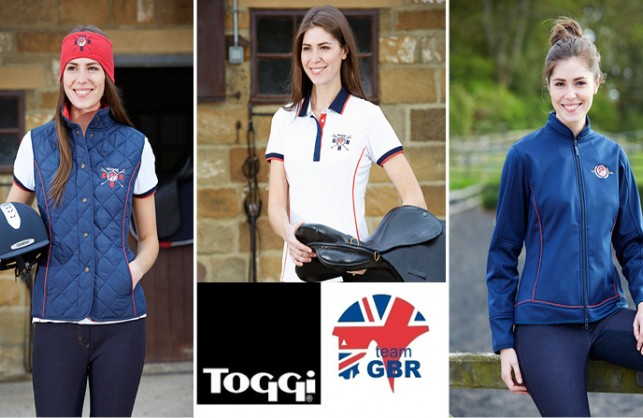 WIN kit from the official Toggi Equestrian Team GBR collection!