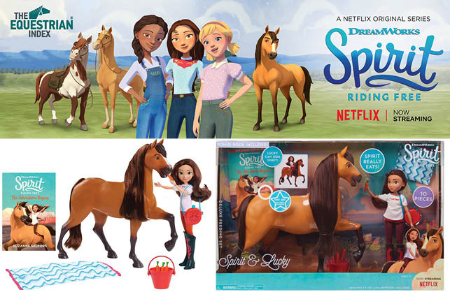 WIN With Dreamworks 'Spirit and Lucky Deluxe Feeding Set'